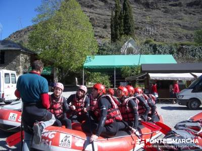 Rafting Noguera Pallaresa - Parque Nacional de Aigüestortes y Lago San Mauricio; madrid excursiones